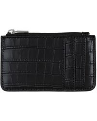 Harrods - Lily Crocodile Embossed Zipped Cardholder - Lyst