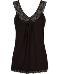 Mimi Holliday by Damaris - Chai Lace Trim Cami Top - Lyst
