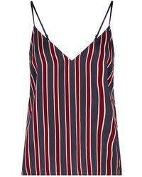 FRAME - Stripe Camisole Top - Lyst
