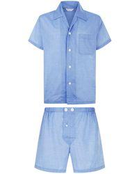 Derek Rose - Amalfi Shorts Pyjama Set - Lyst