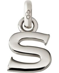 Links of London - Sterling Silver Alphabet Charm - Lyst
