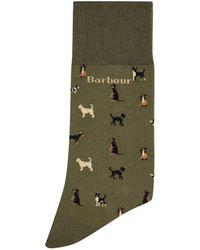 Barbour - Mavin Dog Printed Socks - Lyst