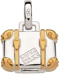 Links of London - Sterling Silver Suitcase Charm - Lyst