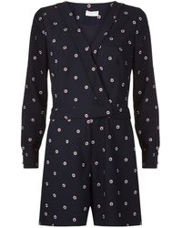 Claudie Pierlot - Jericho Embroidered Playsuit - Lyst
