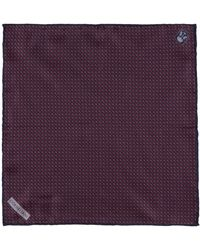 Corneliani - Tile Pocket Square - Lyst