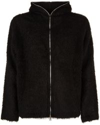 Our Legacy - Mohair Zipped Hoodie - Lyst