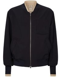 Wooyoungmi - Contrast Trims Bomber Jacket - Lyst