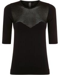 Varley - Taylor Mesh Panel T-shirt - Lyst