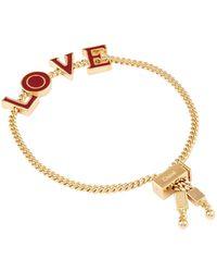Chloé | Chlo Love Lettering Bracelet, Red, One Size | Lyst