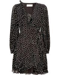 Keepsake - Moonshine Wrap Mini Dress - Lyst
