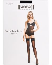 Wolford - Satin Touch 20 Stay Up Thigh Highs - Lyst