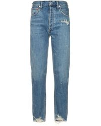 Agolde - Jamie High Rise Jeans - Lyst