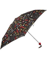 Harrods - Glitter London Umbrella - Lyst