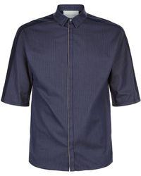 Stephan Schneider - Contrast Panel Shirt - Lyst