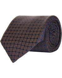 Corneliani - Square Mosaic Jacquard Tie - Lyst