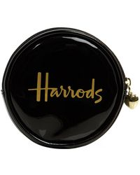 Harrods | Logo Round Coin Purse | Lyst