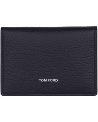Tom Ford - Bifold Leather Card Holder - Lyst