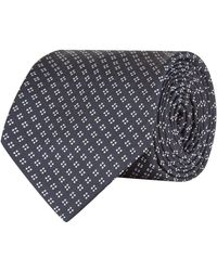 Polo Ralph Lauren - Silk Diamond Embroidered Tie - Lyst