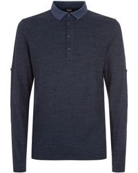 BOSS Orange - Roll Sleeve Polo Shirt - Lyst