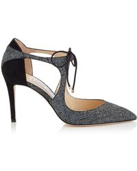 Jimmy Choo - Latte Knit Vanessa Court Shoes 85 - Lyst