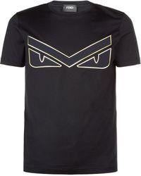 Fendi - Monster Eyes T-shirt - Lyst