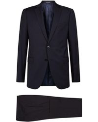 Emporio Armani - Wool Two-piece Suit - Lyst
