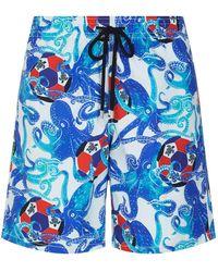 Vilebrequin - Okoa Octopus Print Swim Shorts - Lyst