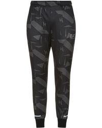Armani - Geometric Print Sweatpants - Lyst