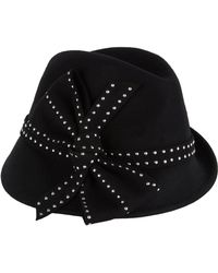 Peter Bettley - Studded Trilby Hat - Lyst