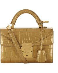 Stalvey - Alligator Top Handle Bag 2.0 - Lyst