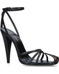 Saint Laurent - Leather Era Sandals 110 - Lyst