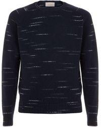 John Smedley - Dash Wool Sweater - Lyst