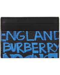 Burberry - Leather Sandon Card Holder - Lyst
