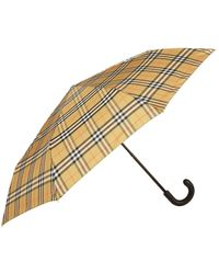 Burberry Leather Handle Umbrella