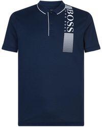 BOSS Green - Pl Tech Polo Shirt - Lyst