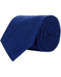 Harrods | Silk Plain Tie | Lyst