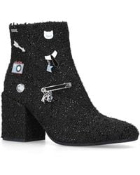 Karl Lagerfeld | Lavinia Ankle Boots | Lyst