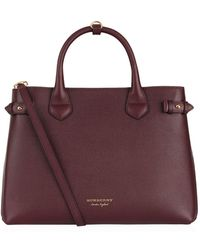 Burberry - Medium Banner Tote Bag - Lyst