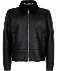 McQ - Shearling Jacket - Lyst