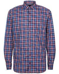 BOSS Orange - Cotton Check Printed Shirt - Lyst
