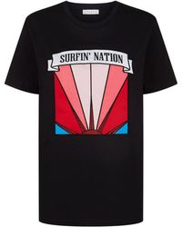 Sandro - Surfin' Nation T-shirt - Lyst