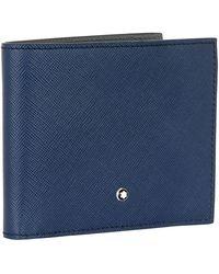 Montblanc - Bilfold Leather Wallet - Lyst