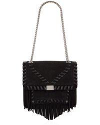 Claudie Pierlot - Leather Fringed Bag - Lyst