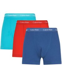 CALVIN KLEIN 205W39NYC - Stretch Cotton Trunks (pack Of 3) - Lyst