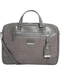 Tumi - Leather Marina Briefcase - Lyst