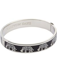 Halcyon Days - Elephant Bangle - Lyst