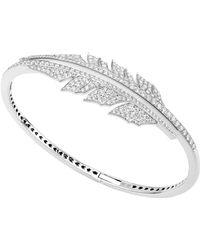 Stephen Webster - Magnipheasant Pavé Open Feather Bracelet - Lyst