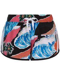adidas Originals - Tropical Summertime Print Shorts - Lyst