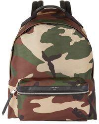 Sandro - Camo Backpack, Green, Tu - Lyst
