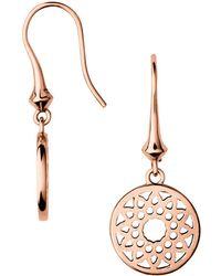 Links of London - Timeless Small Drop Earrings - Lyst